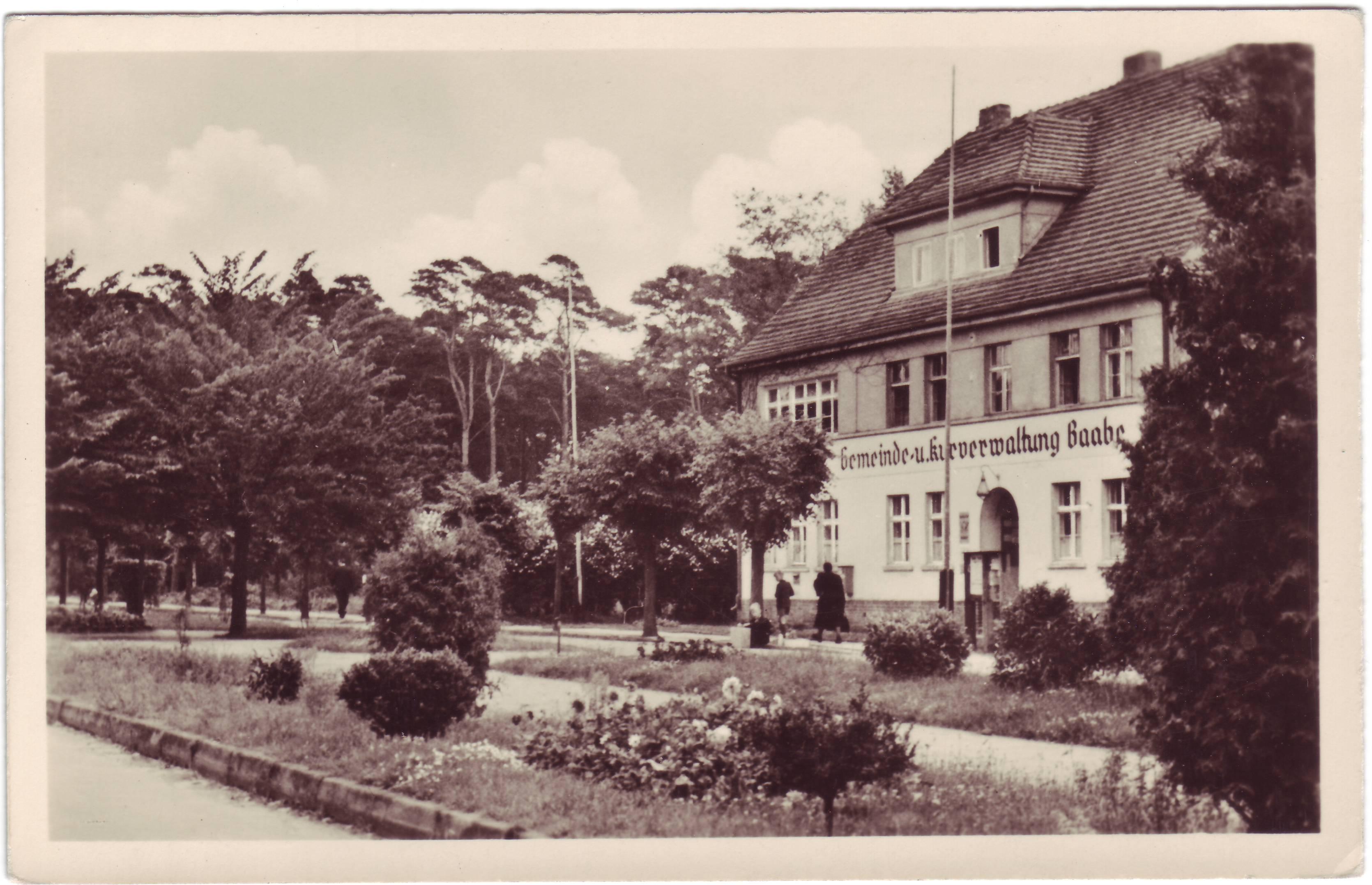Gemeinde und Kurverwaltung 1957