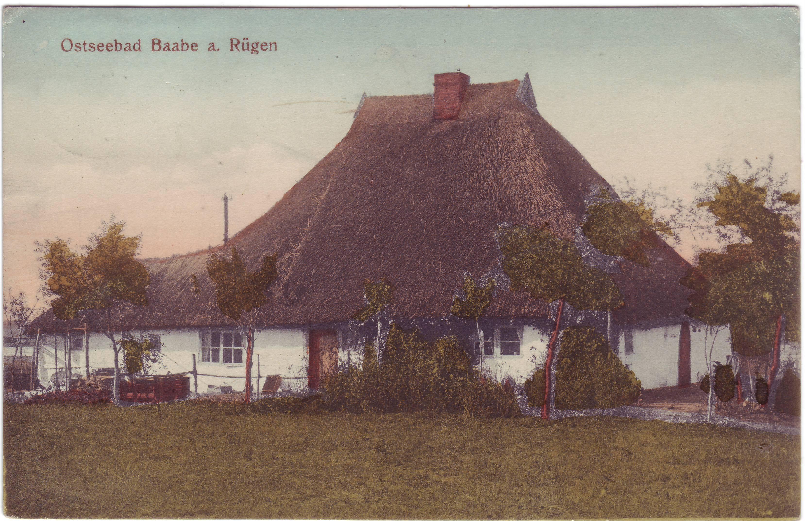 Rohrgedecktes Haus