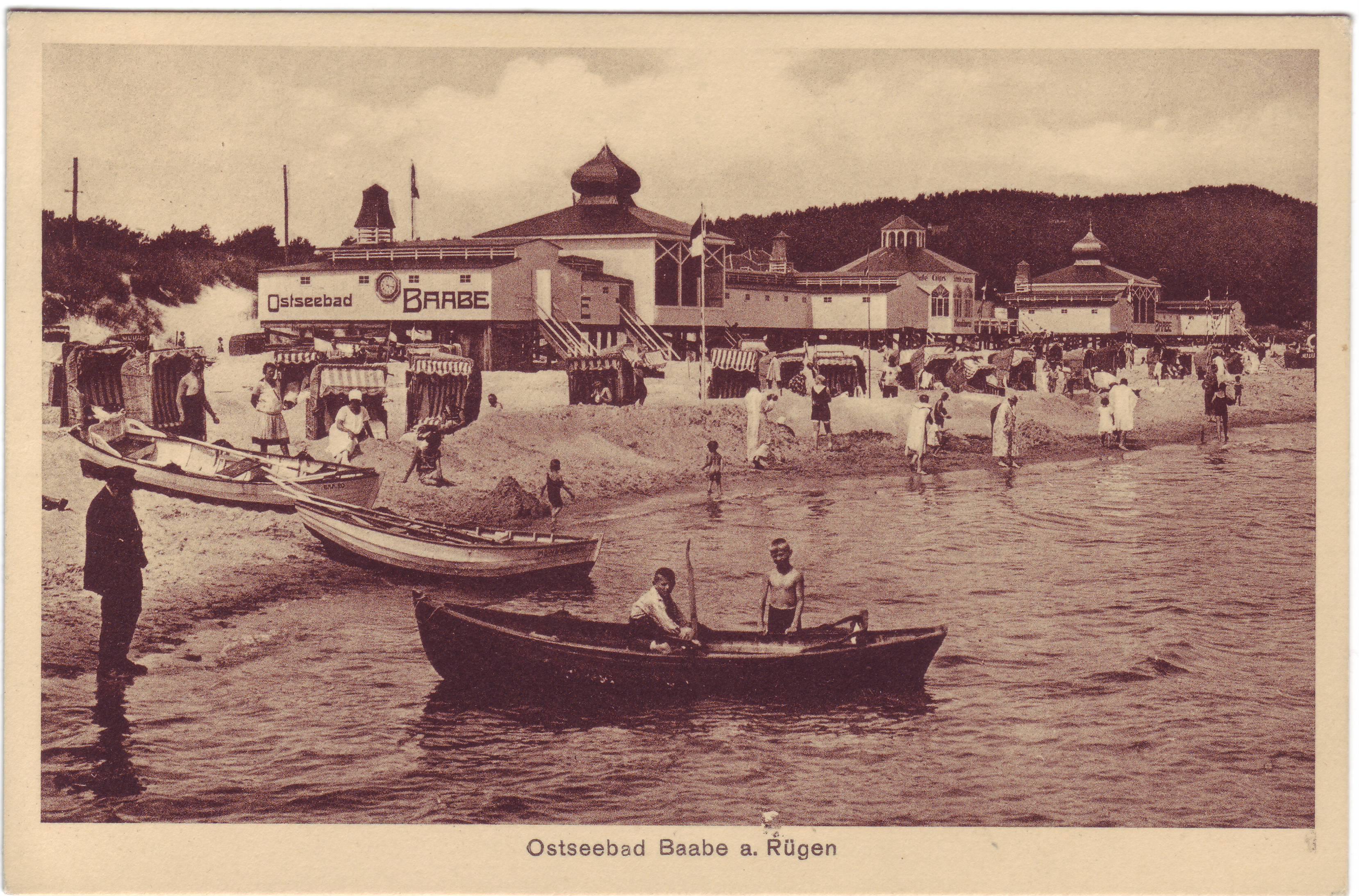 altes Foto Baaber Strand