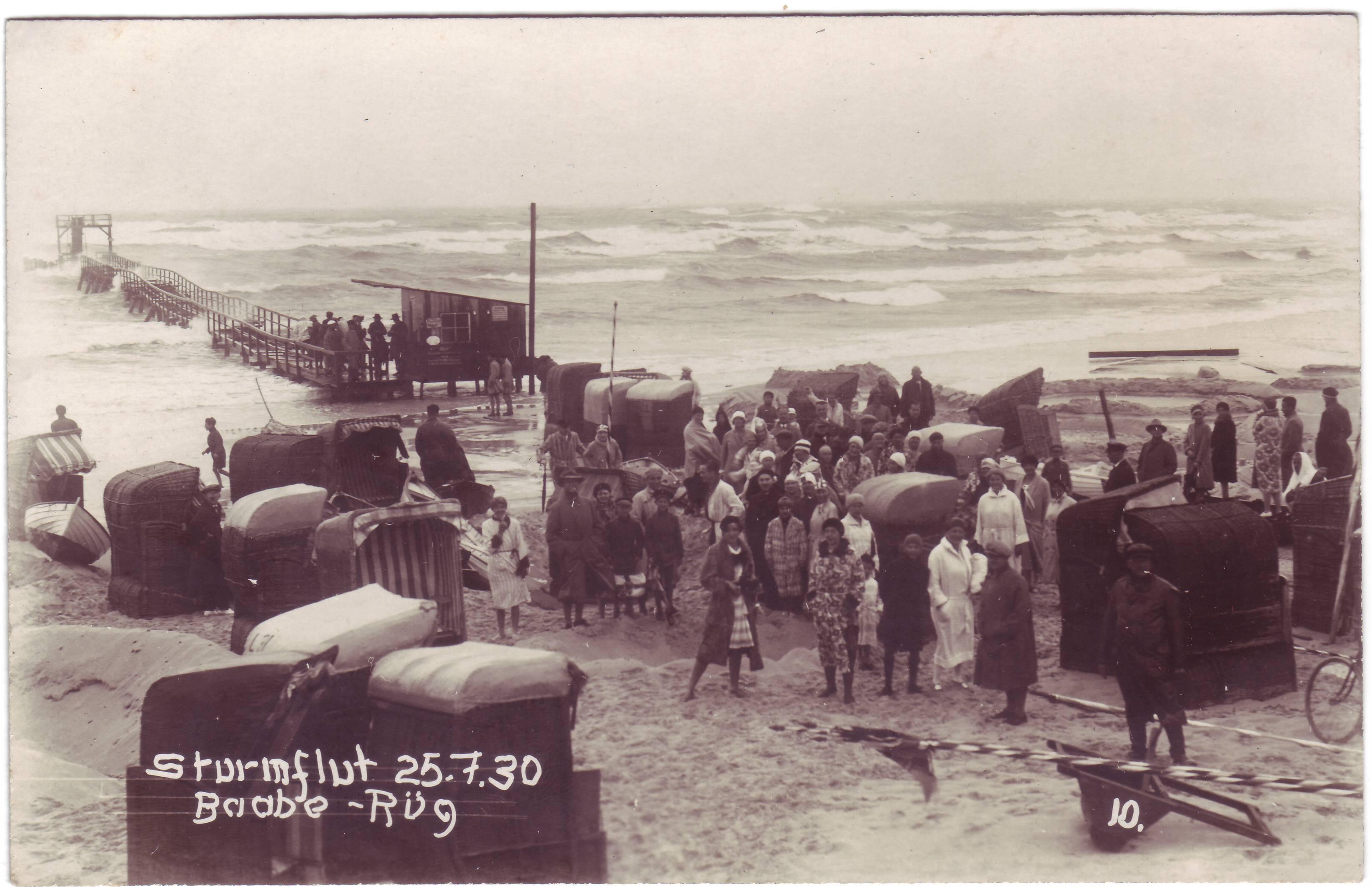 Sturmflut 1930
